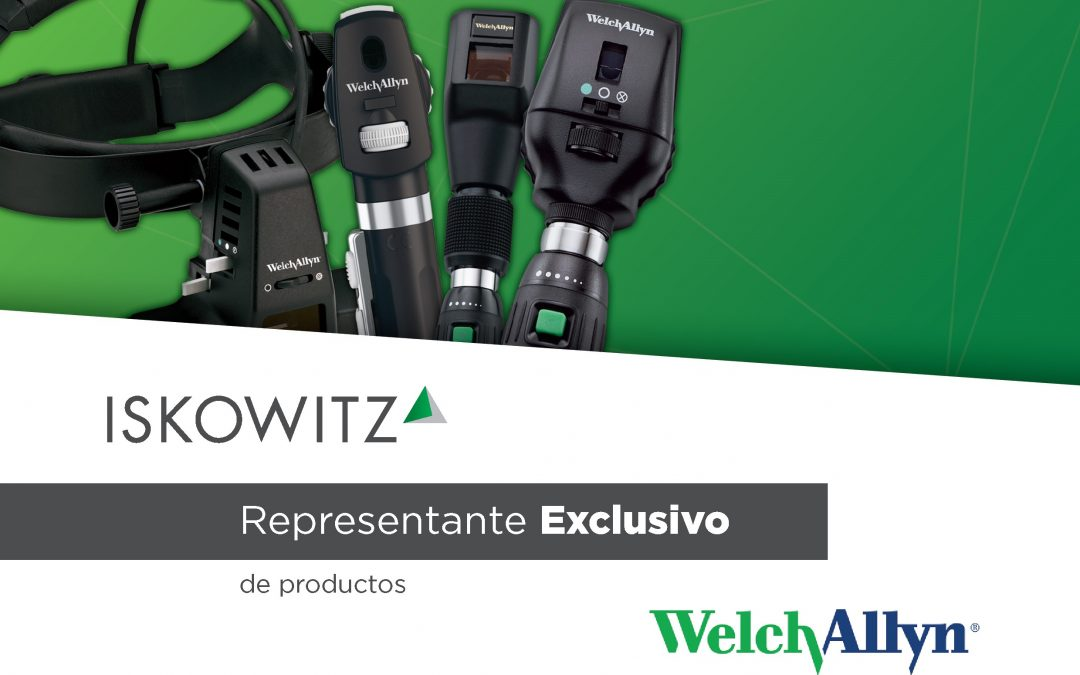 Iskowitz representante exclusivo de Welch Allyn