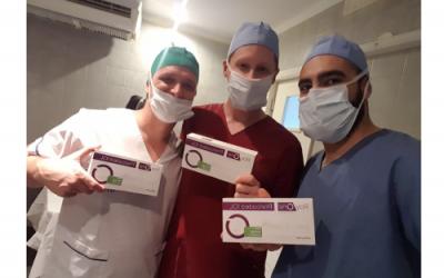 Primera cirugía de LIO RayOne en Argentina