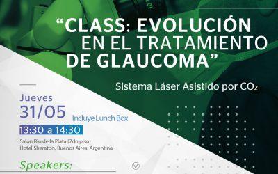 """Simposio CCO: """"CLASS, evolución en el tratamiento del glaucoma"""""""