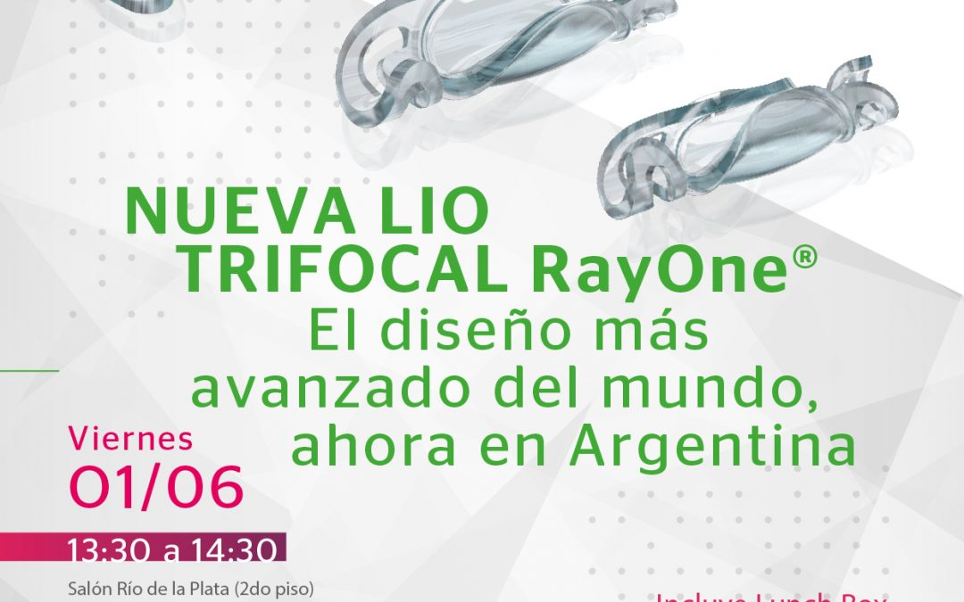"Simposio CCO: ""Nueva LIO Trifocal RayOne»"